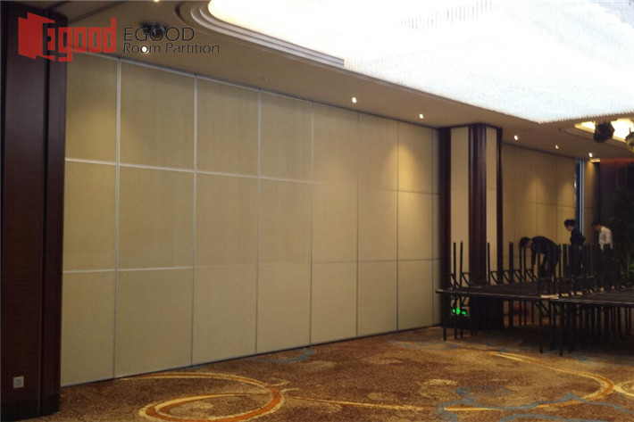 Fabric movable partition
