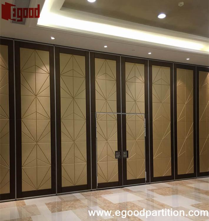 Pullman hotel movable partition project movable folding for Movable partition wall systems
