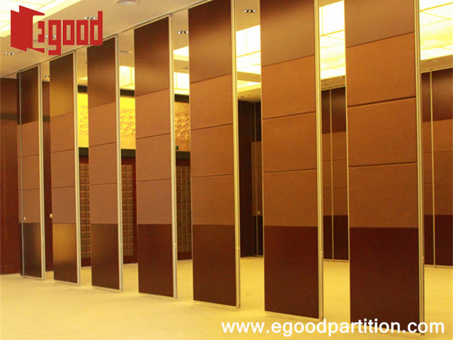 JInShan International Hotel soundproof sliding partiiton panel