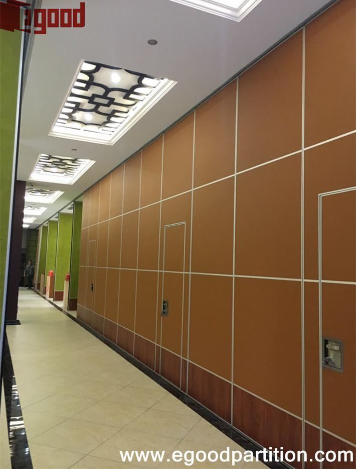 Restaurant Sliding Folding Partition Wall Movable