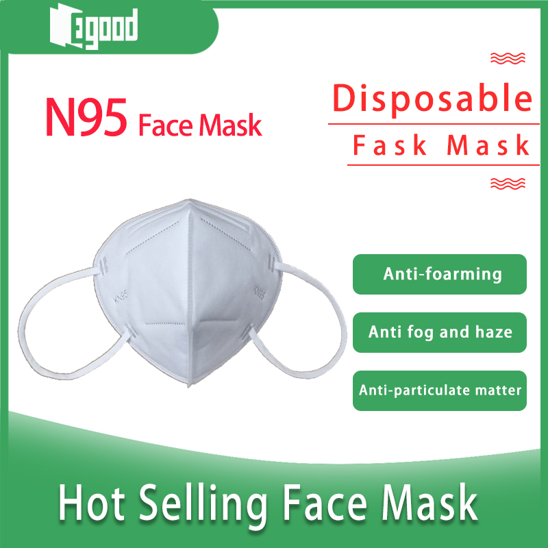Anti-Particulate Matter Disposable Protective Security KN95 Mask