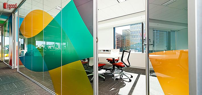 glass partition, office, office decorate, office glass partition