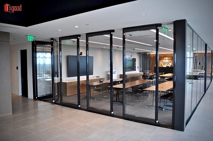 Glazing fitted,Egood partition, Office Partition,glass partition