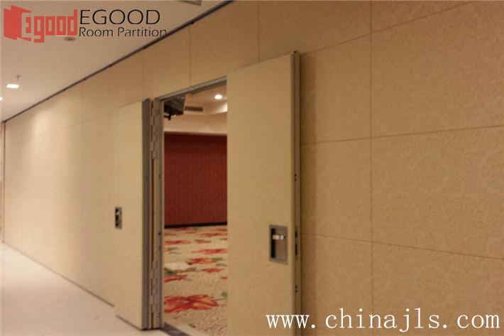 Artificial leather finishes of operable wall