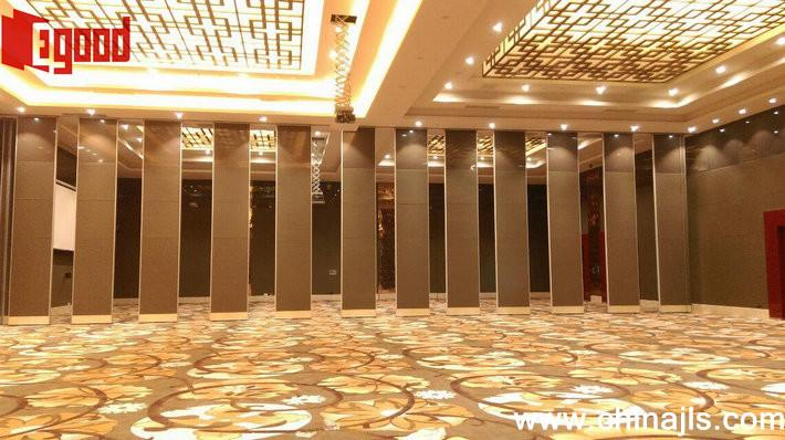 Operable partition door sliding folding partition