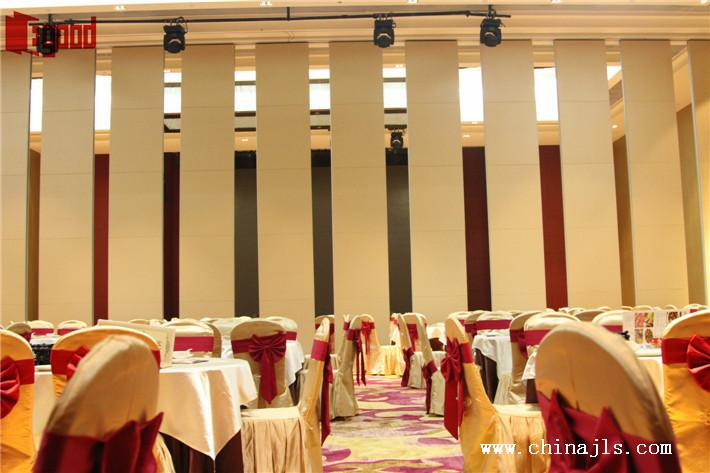 Hotel banquet hall movable wall
