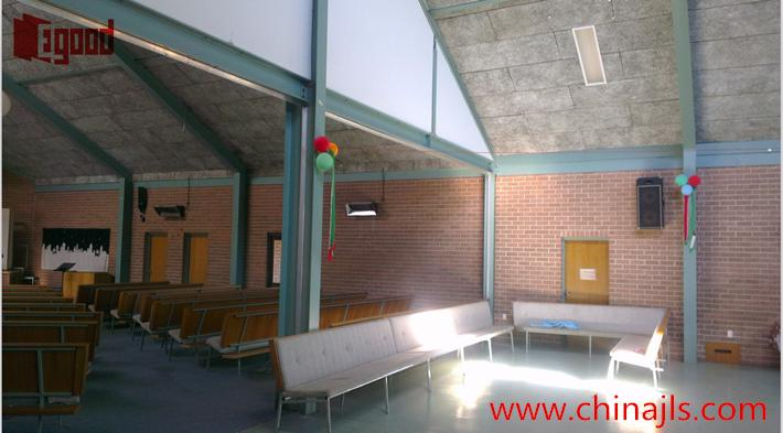 Tamworth Baptist Church,Egood ,movable partition