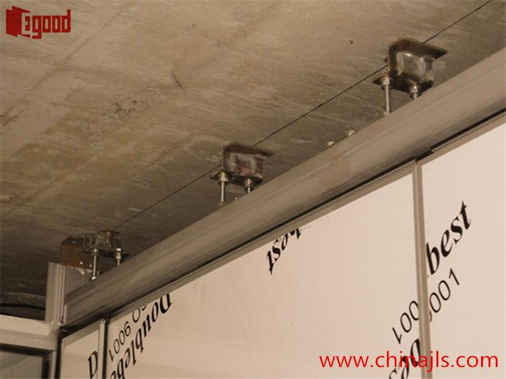 operable wall ,track hanger tracket,steel structure support